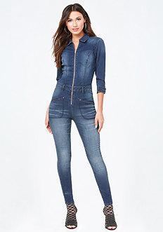 Denim Traveler Jumpsuit