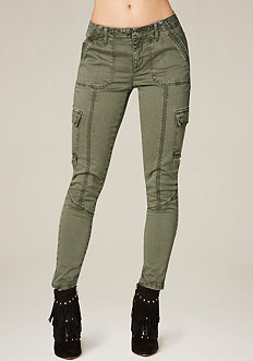 Autumn Skinny Cargo Pants