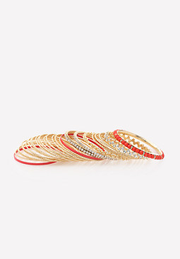 bebe Luxurious Bangle Set