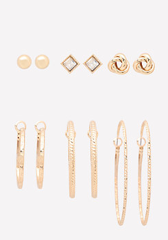 bebe Mix Earring Set