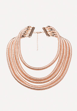 bebe Coil Strand Necklace