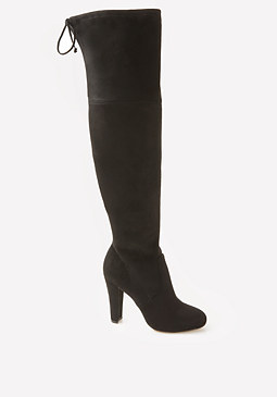 bebe Rascia Over Knee Boots