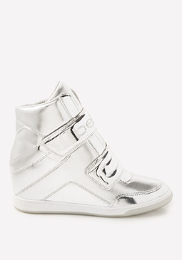 bebe Cobble High Top Sneakers
