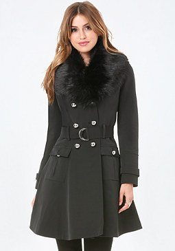 bebe Princess Trench Coat