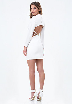 bebe Bancroft Open Back Dress