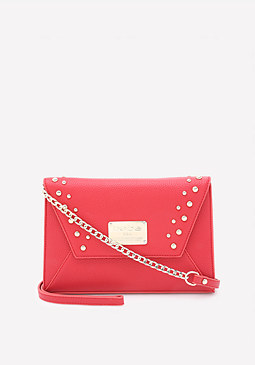 bebe Maya Studded Crossbody Bag