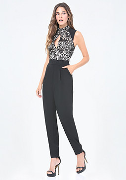 bebe Willow Jumpsuit