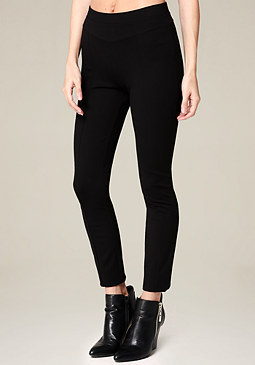 bebe Ponte V-Yoke Leggings