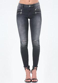 4 Zip Heartbreaker Jeans