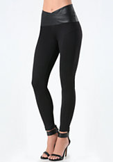 bebe Petite Super Curve Leggings