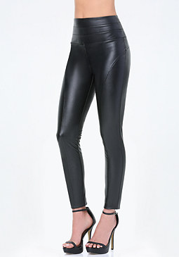 bebe Petite High Rise Leggings