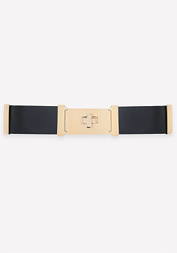 bebe Turnlock Stretch Belt