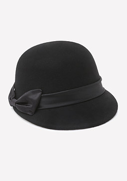 bebe Ribbon Band Riding Cap