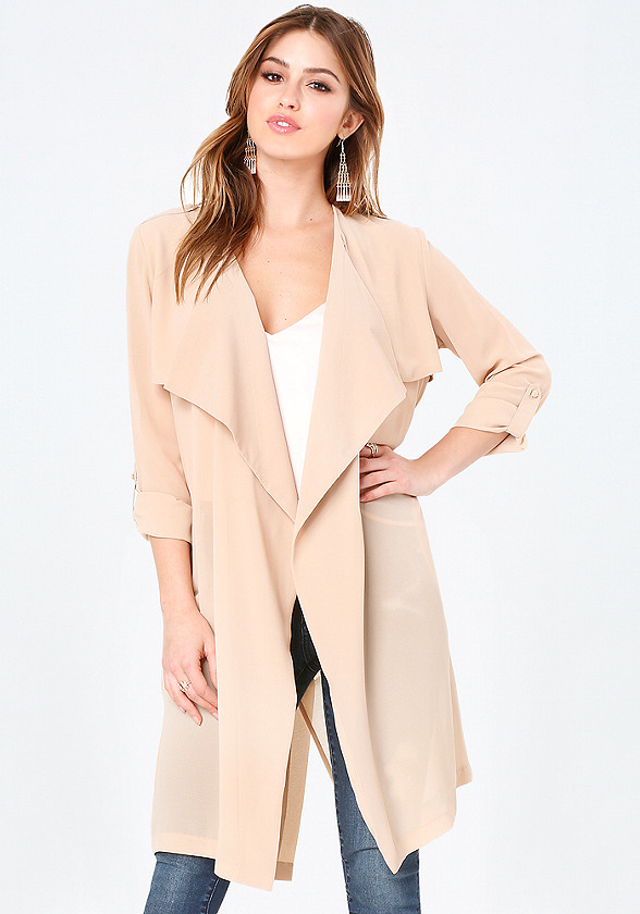 Jackets &amp Coats for Women: Sleeveless &amp Long | bebe