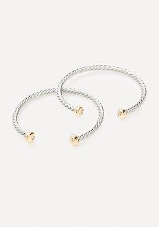 Textured Metal Bracelet
