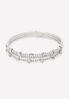 Crystal Multi-Row Bracelet