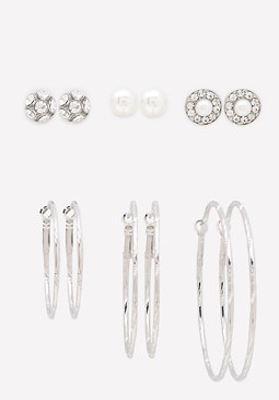 bebe Day to Night Earring Set