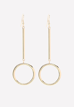 bebe Modern Drop Earrings