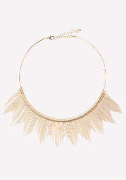 bebe Spike Collar Necklace