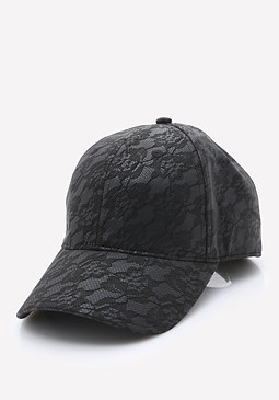 bebe Lace Ball Cap