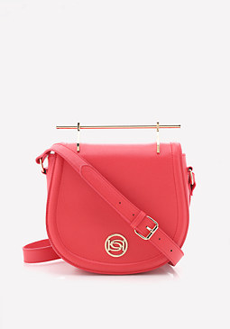 bebe Lily Crossbody Saddle Bag