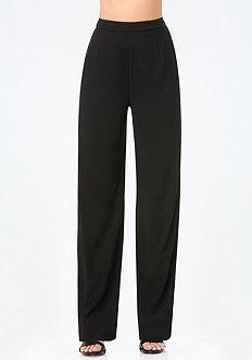 High Rise Wide Leg Trousers