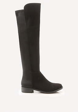 bebe Taara Mix Riding Boots