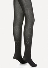 bebe Rhinestone Tights