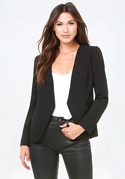 bebe Laced Back Jacket