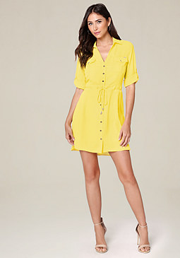 bebe Regina Shirtdress