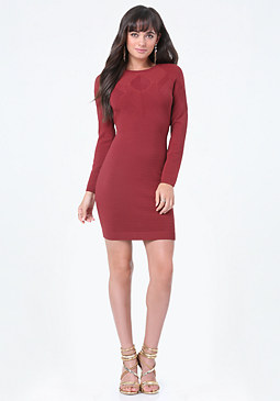 bebe Darla Ottoman Sweater Dress