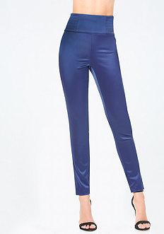 Tiana Satin High Rise Pants