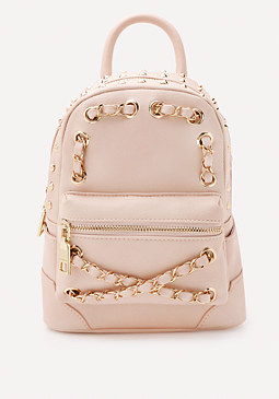 bebe Jett Chain Mini Backpack