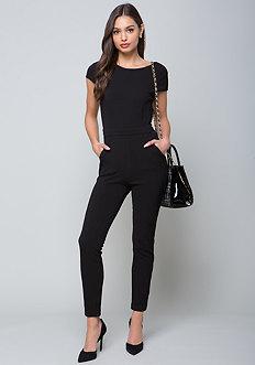 Taylor Crepe Knit Jumpsuit
