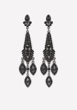 bebe Victorian Drop Earrings