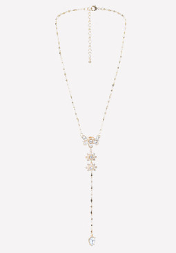 bebe Butterfly Lariat Necklace