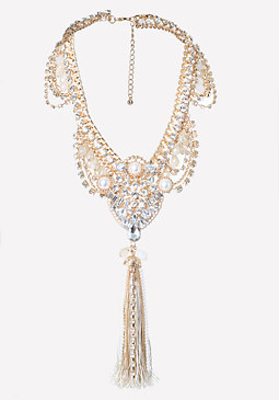 bebe Lavish Statement Necklace