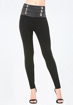 bebe Jane High Rise Leggings