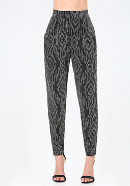 bebe Metallic Atlas Leggings