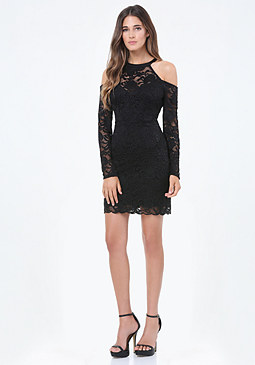 bebe Channing Lace Dress