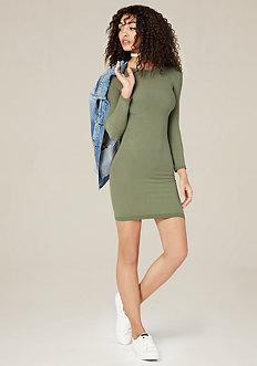 Raglan Sleeve Bodycon Dress