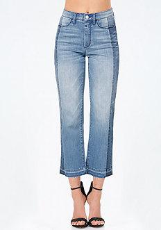 Reworked Crop Jeans