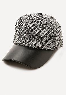 Logo Tweed Cap