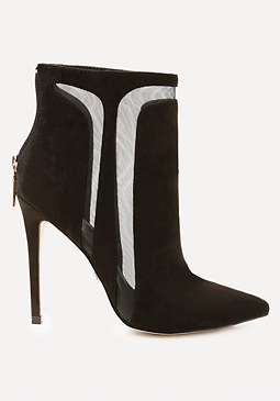 bebe Tucci Faux Suede Booties
