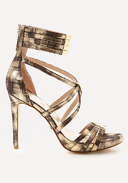 bebe Naddia Strappy Sandals