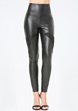 bebe Drama Bi-Stretch Leggings