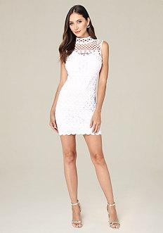 Donna Laser Cut Dress