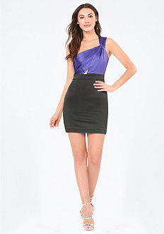 Karen Single Shoulder Dress