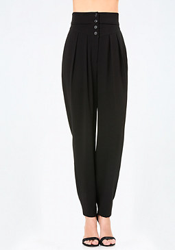 bebe High Waist Trousers