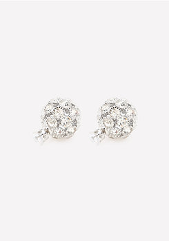 bebe Stud & Sphere Earrings